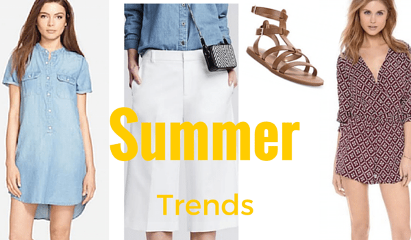 Top 5 Must Have Summer Trends