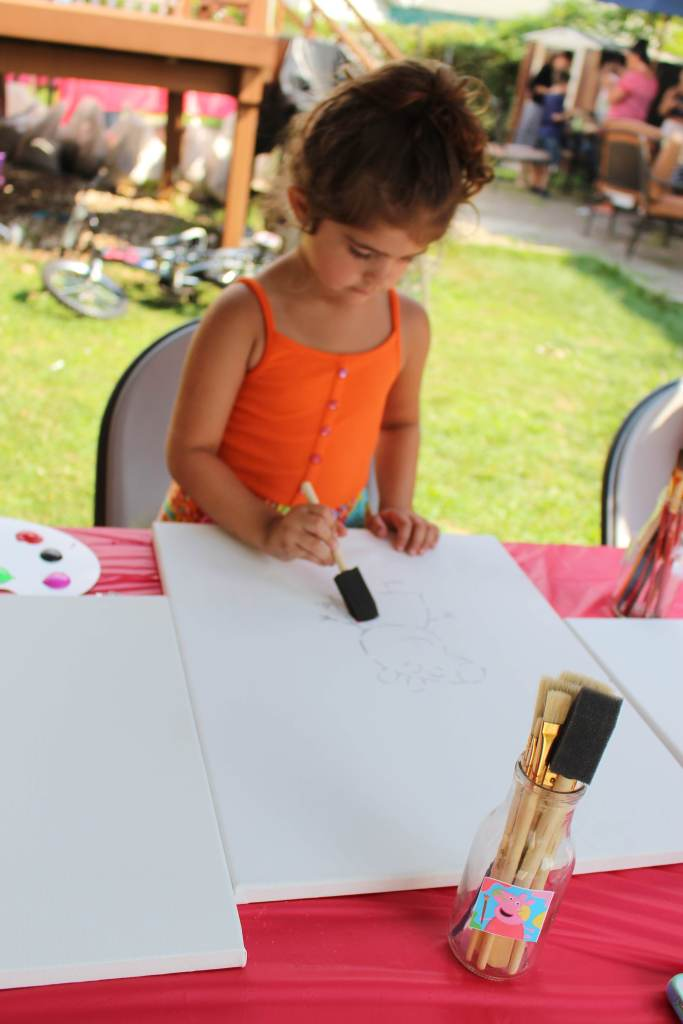 peppa pig painting party 2