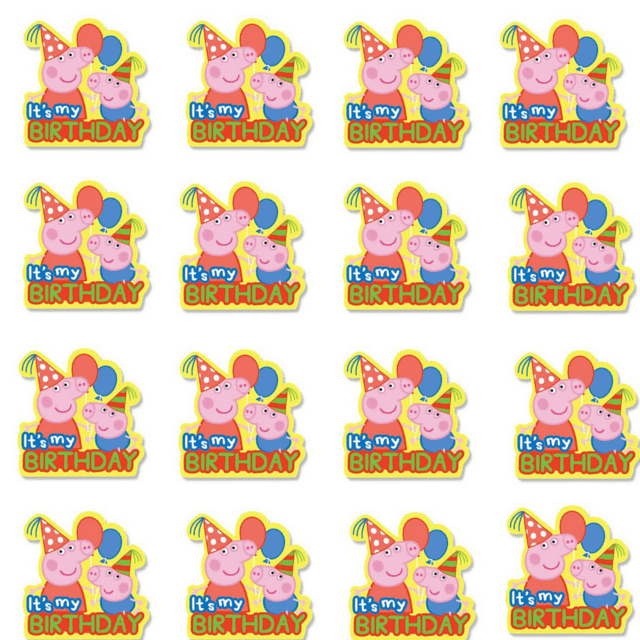 graphic about Peppa Pig Character Free Printable Images named Absolutely free Peppa Pig Printables! - Attractive Chaos