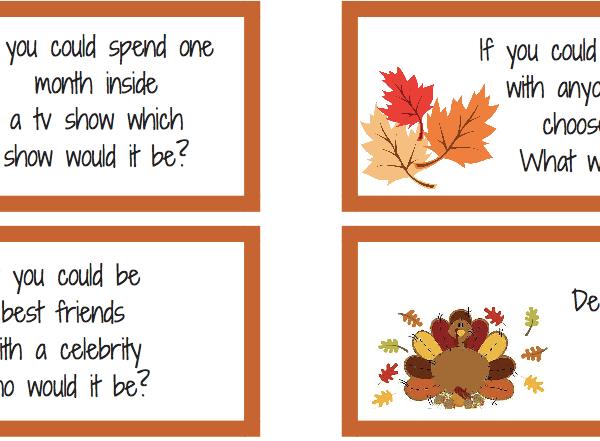 Thanksgiving Day Printables