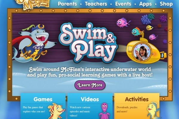 Captain McFinn's Swim & Play App