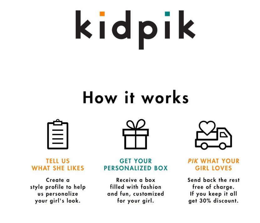 kidpik How it works