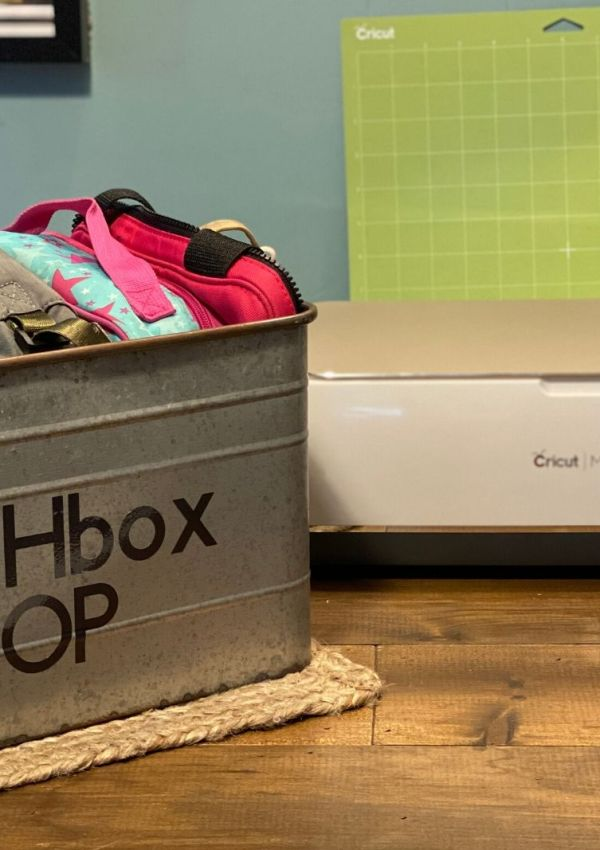 An introduction to The Cricut Maker and LunchBox Organization