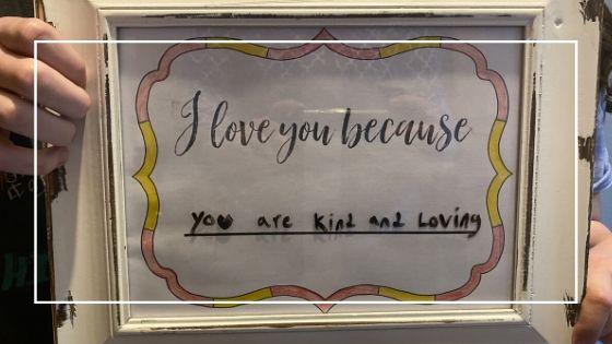 DIY Erasable Message Board