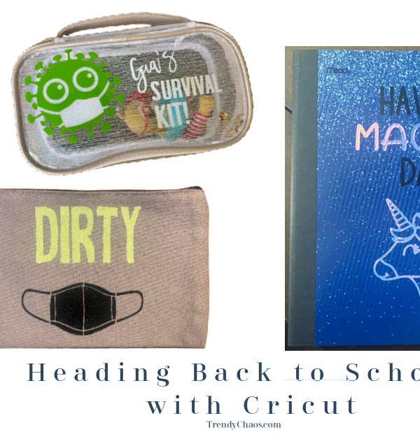 Heading Back to School with Cricut!