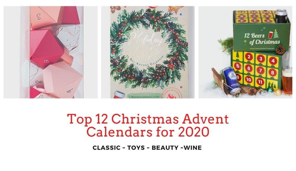 Top 12 Christmas Advent Calendars for 2020