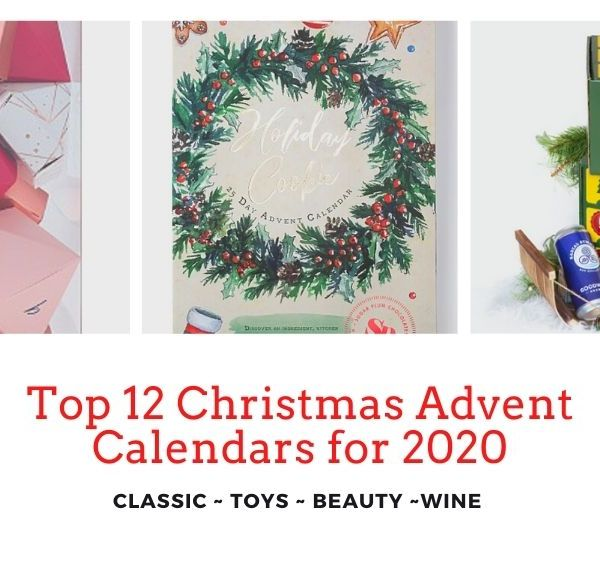 Top 12 Christmas Advent Calendars for 2020