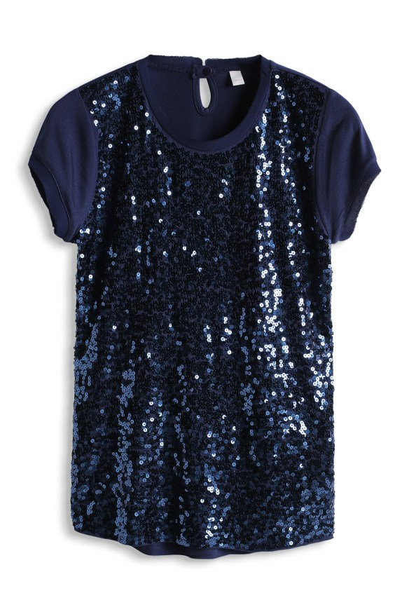 esprit shop on line idea regalo bimba  t shirt paillettes