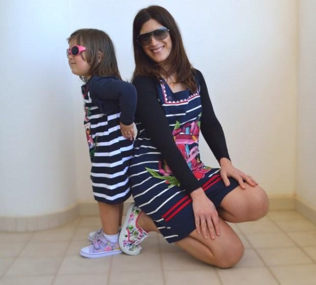 vestito uguale mamma e figlia