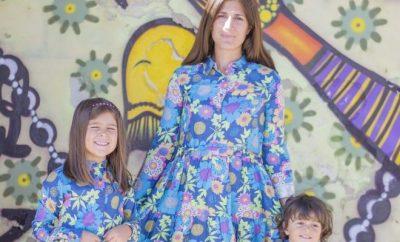 Vestiti uguali per mamma e figlia