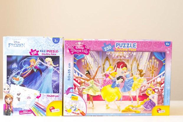 puzzle benefici per bambini