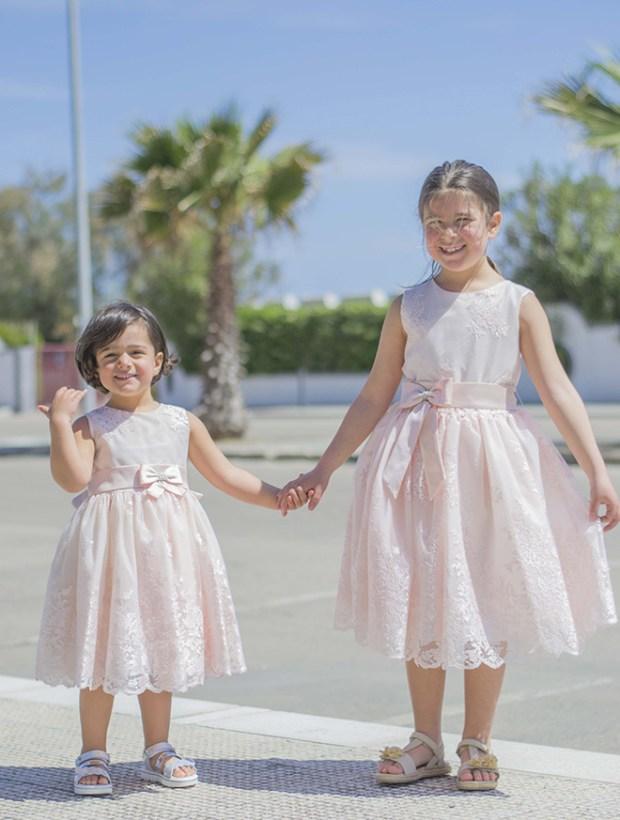 abiti eleganti da bambina per la cerimonia