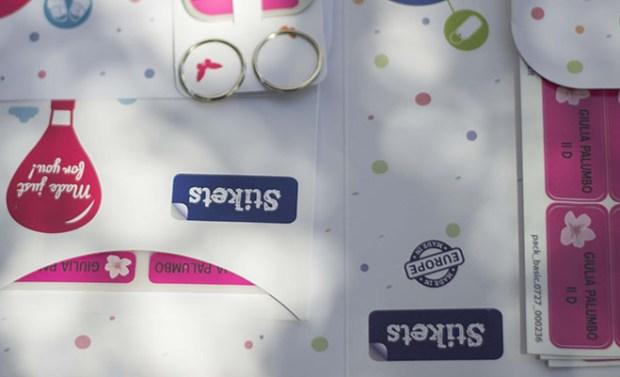 etichette personalizzate adesive