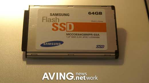 Samsung 1.8-inch 64GB SSD