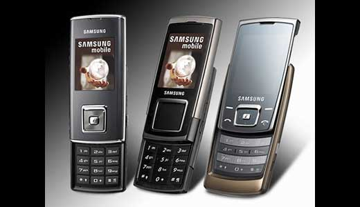 Samsung SGH-E950, SGH-E840 and SGH-J600