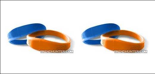 USB Flash Drive Wristbands