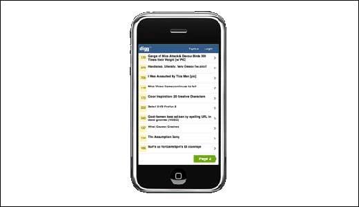Digg iPhone