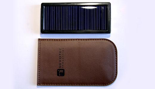 New Devotec Solar Charger