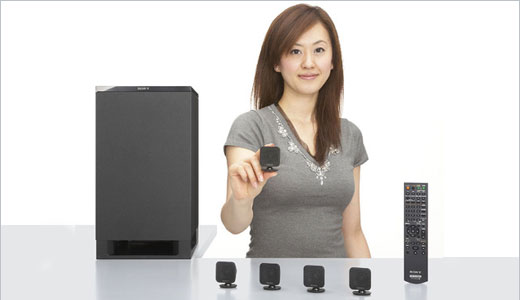 Sony HT-IS100 5.1 channel home theater system