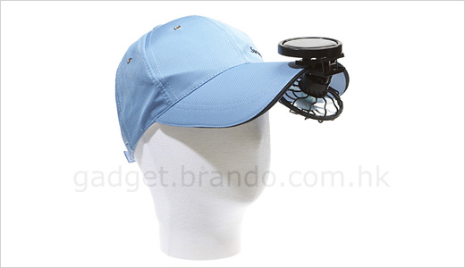 Solar Mini Clip Fan