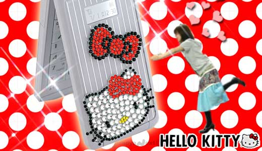 Hello Kitty Character Jewelry Gem Sticker