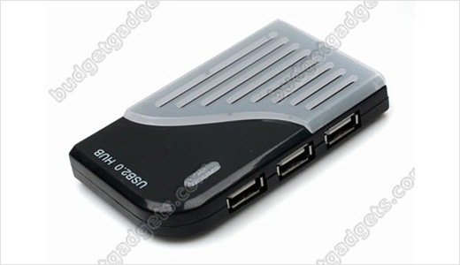 Harmonica Shape High Speed USB 2.0 7 Ports Hub