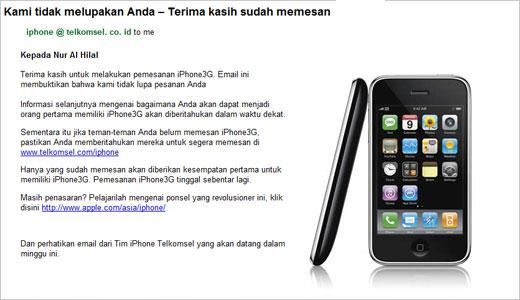 iphone 3g indonesia