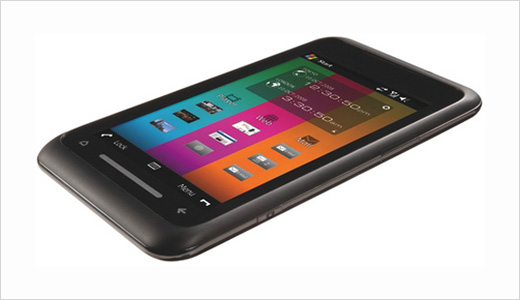 toshiba tg01 touch phone