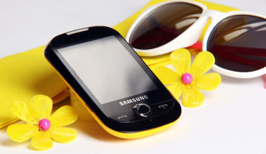samsung corby full touch phone