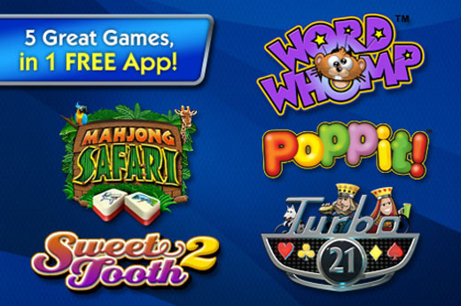 Free Pogo Games App from Electronic Arts