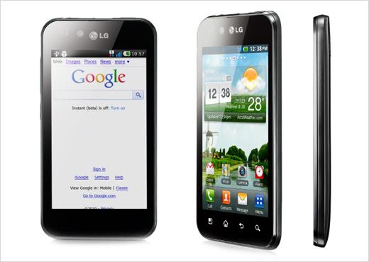 LG Optimus Black Android Smartphone