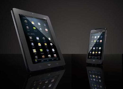 VIA Phone and VIA Tablet from VIZIO