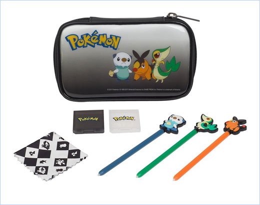 official Pokémon branded accessories for Nintendo DS™ family