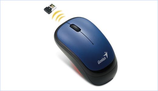 Genius Wireless Optical Mouse Traveler 6000