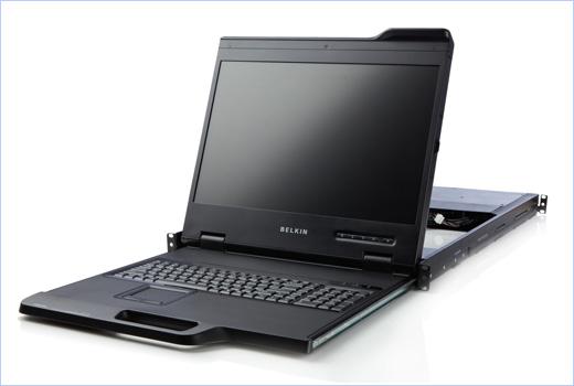 Belkin  new 19-inch Widescreen Rack Console