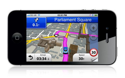 New Garmin StreetPilot App for iPhone