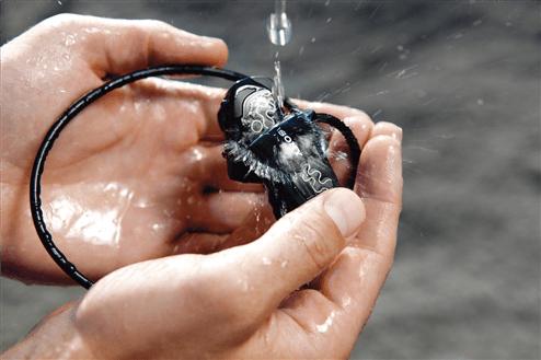 wearable Walkman® NWZ-W260 series MP3 player