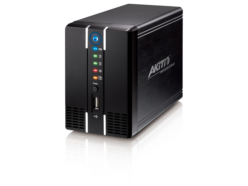 MyCloud Duo, New Personal Cloud Server from Akitio