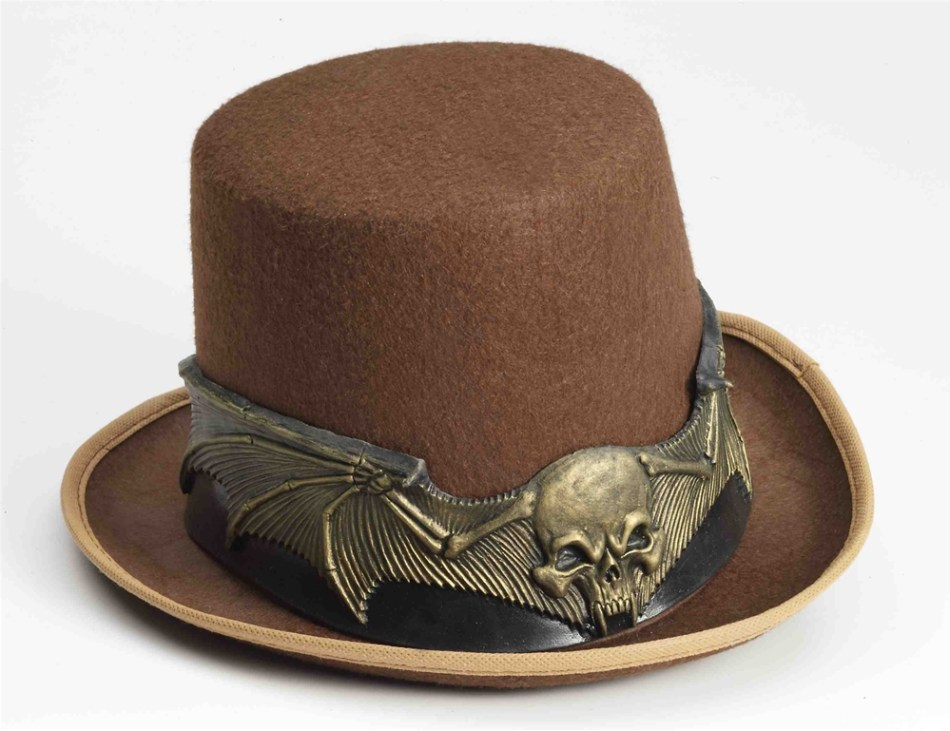 Steampunk Skull Hat Band