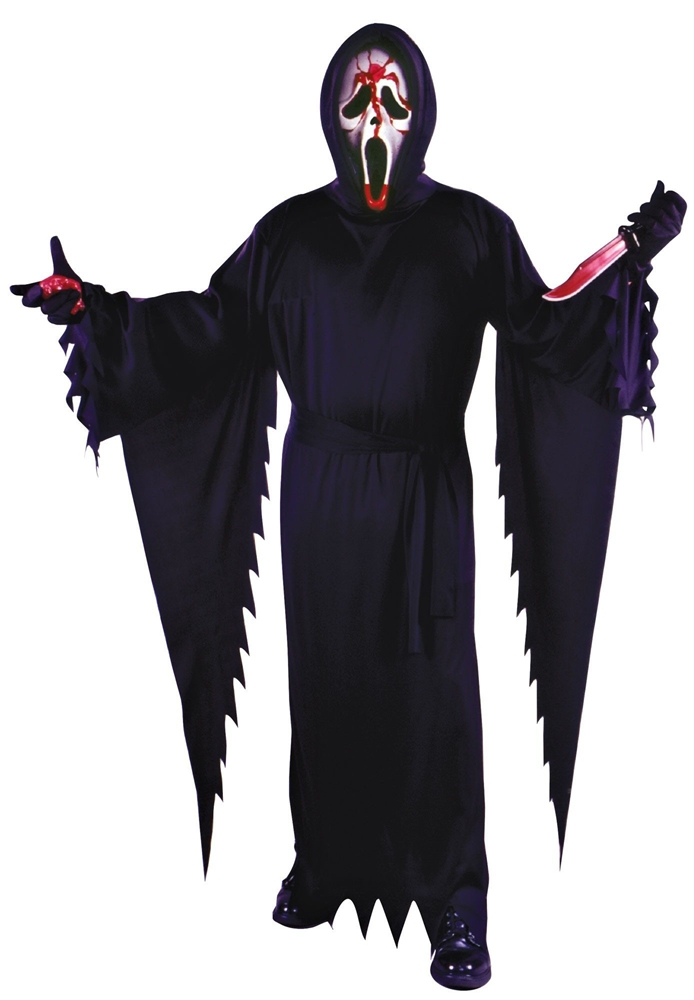 Scream Bleeding Ghost Face Adult Mens Costume 308639