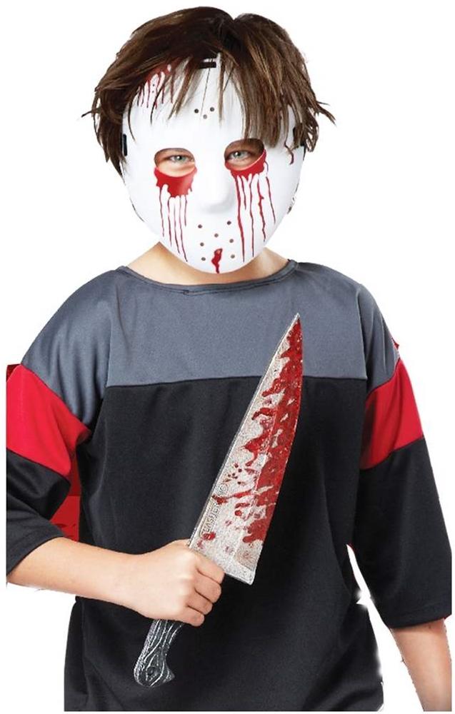 Slasher Hockey Mask Amp Knife Set 326968