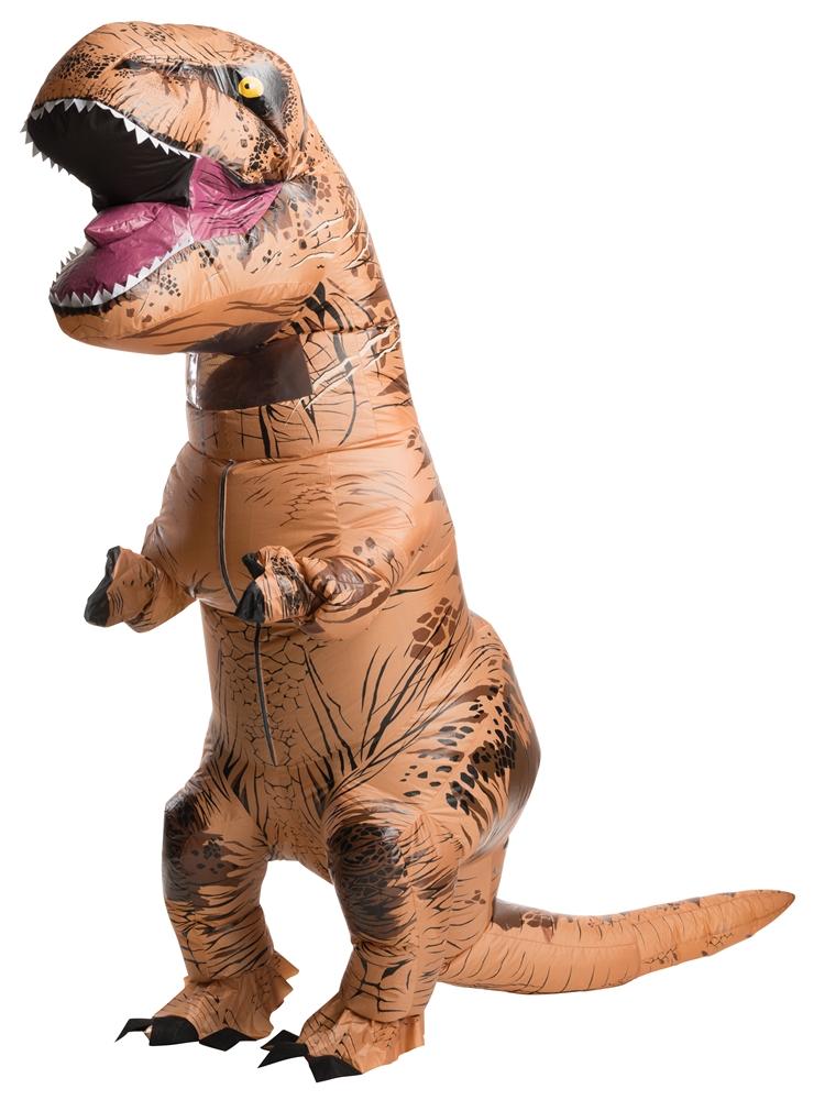 Jurassic World Inflatable T Rex Adult Mens Costume