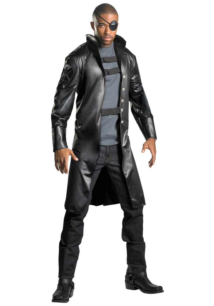 Marvel The Avengers Nick Fury Deluxe Adult Mens Costume
