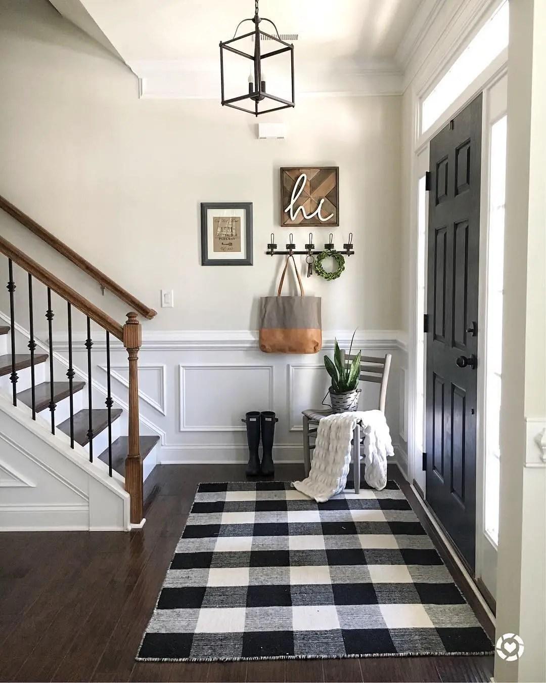 Buffalo Check Black White Year Round Home Decor Ideas Trendy Home Hacks