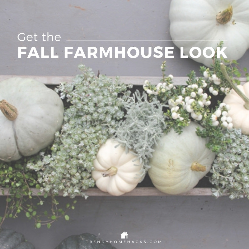 Fall Farmhouse Interior Decor
