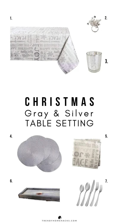 Christmas Table Settings: Modern Farmhouse Styling Ideas