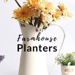 10+ Cute Planters with a Farmhouse Look