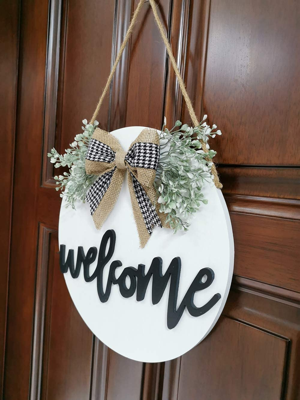 farmhouse welcome sign