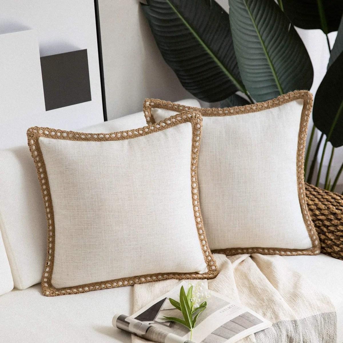 Burlap-Trimmed-Farmhouse-Pillow-Covers