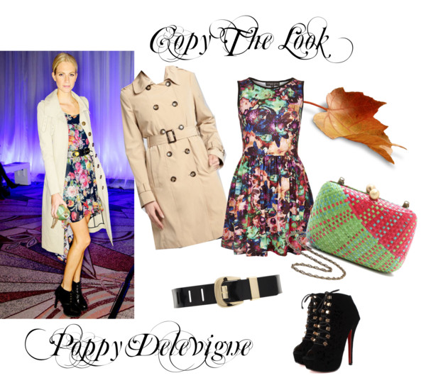 Copy the look: Poppy Delevigne